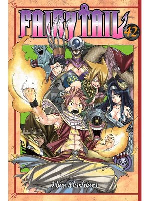 cover image of Fairy Tail, Volume 42