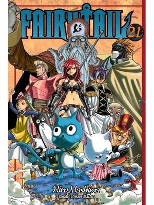 cover image of Fairy Tail, Volume 21