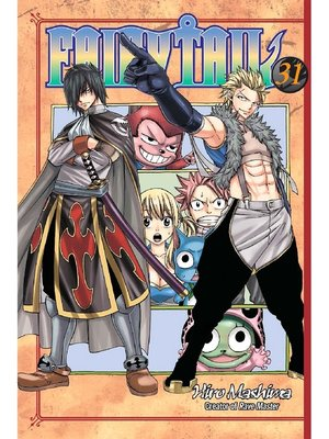 cover image of Fairy Tail, Volume 31