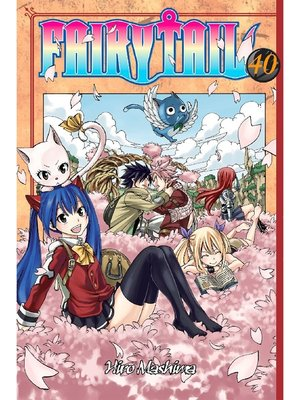 cover image of Fairy Tail, Volume 40