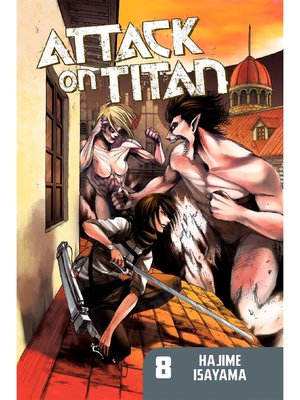 cover image of Attack on Titan, Volume 8