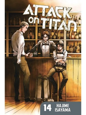 cover image of Attack on Titan, Volume 14