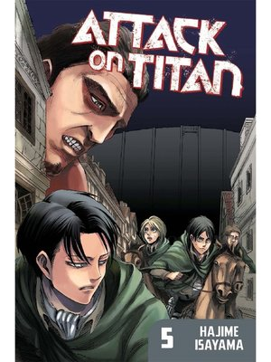 cover image of Attack on Titan, Volume 5