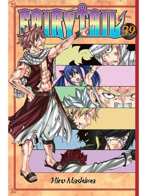 cover image of Fairy Tail, Volume 39