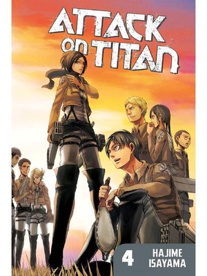 cover image of Attack on Titan, Volume 4