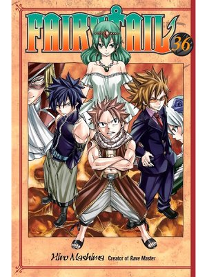 cover image of Fairy Tail, Volume 36