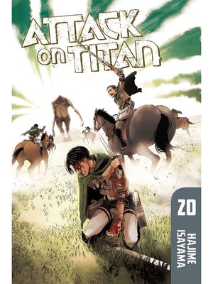 cover image of Attack on Titan, Volume 20