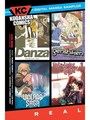 cover image of Kodansha Comics Digital Sampler--REAL, Volume 1