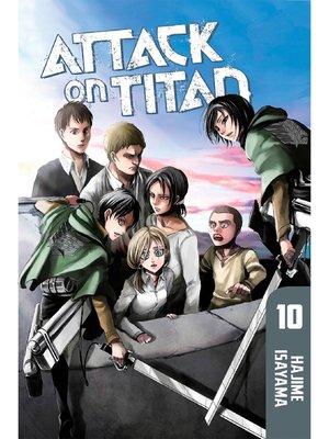 cover image of Attack on Titan, Volume 10