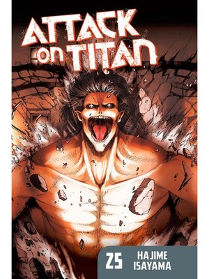 cover image of Attack on Titan, Volume 25