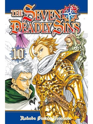 cover image of The Seven Deadly Sins, Volume 10