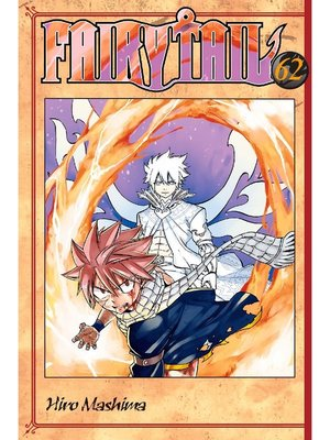 cover image of Fairy Tail, Volume 62