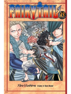 cover image of Fairy Tail, Volume 35