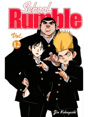 cover image of School Rumble, Volume 12