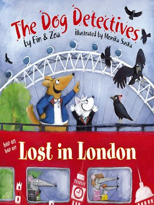 cover image of The Dog Detectives Lost in London