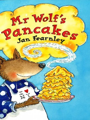 cover image of Mr Wolf's Pancakes