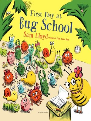 cover image of First Day at Bug School