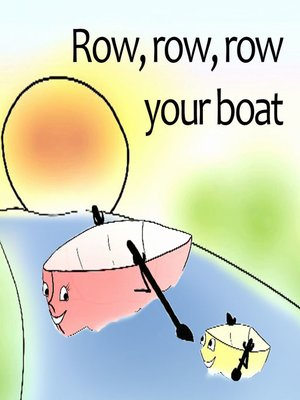 cover image of Row row row your boat