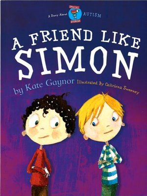 cover image of A Friend Like Simon