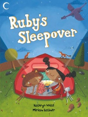 cover image of Ruby's Sleepover