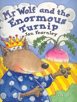 cover image of Mr Wolf and the Enormous Turnip