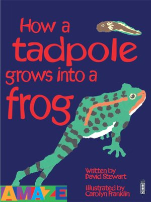 cover image of How a tadpole grows into a frog