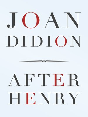 cover image of After Henry