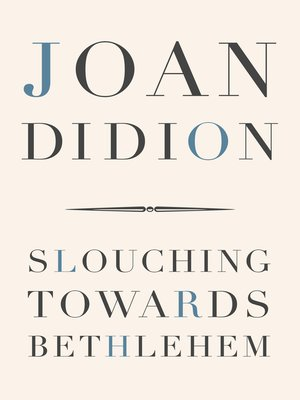 cover image of Slouching Towards Bethlehem