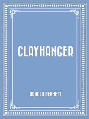 cover image of Clayhanger