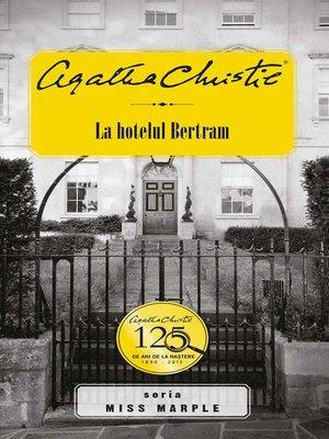 cover image of La hotelul Bertram