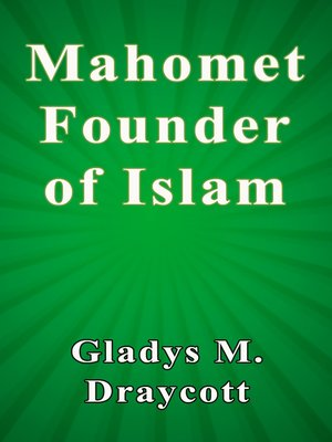 cover image of Mahomet Founder of Islam