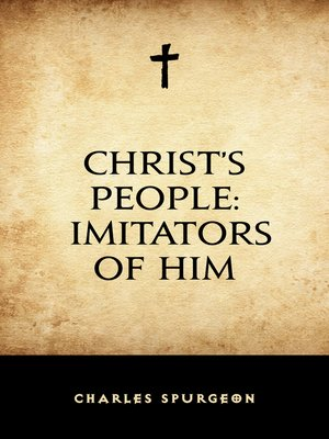 cover image of Christ's People: Imitators of Him