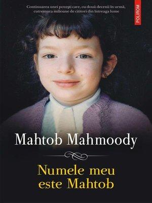 cover image of Numele meu este Mahtob
