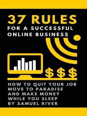 cover image of 37 Rules for a Successful Online Business