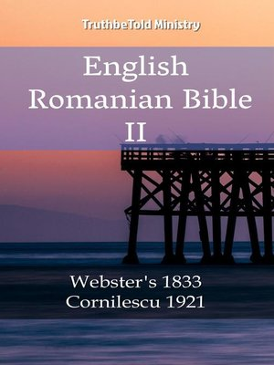 cover image of English Romanian Bible II