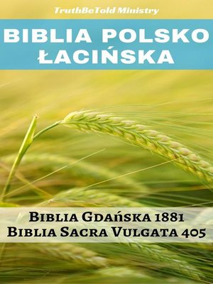 cover image of Biblia Polsko Łacińska