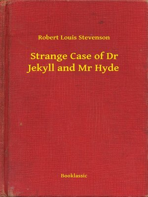 cover image of Strange Case of Dr Jekyll and Mr Hyde