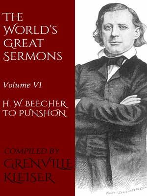 cover image of Volume VI—H. W. Beecher to Punshon