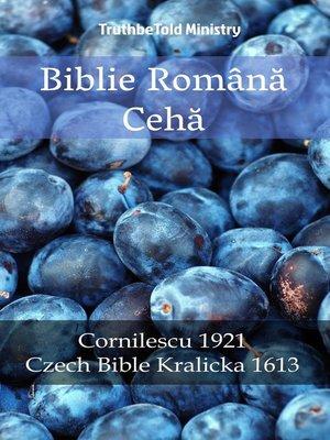 cover image of Biblie Română Cehă