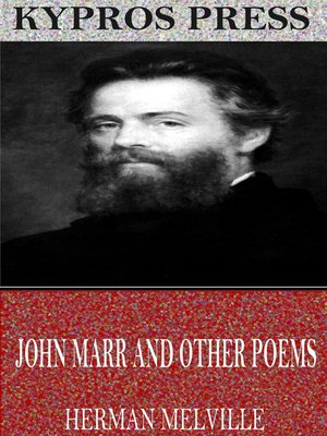 cover image of John Marr and Other Poems