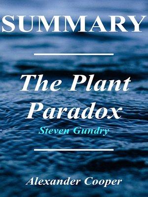 cover image of Summary - The Plant Paradox