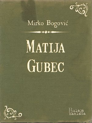 cover image of Matija Gubec