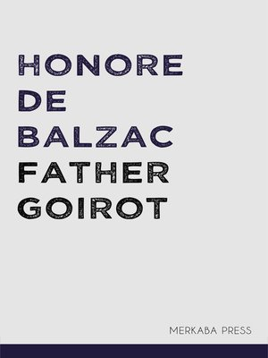 cover image of Father Goirot