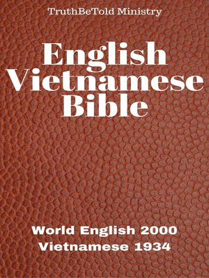 cover image of English Vietnamese Bible