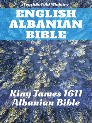 cover image of English Albanian Bible