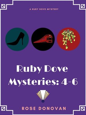 cover image of Ruby Dove Mysteries
