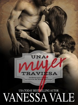 cover image of Una mujer traviesa