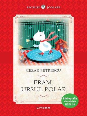 cover image of Fram, ursul polar