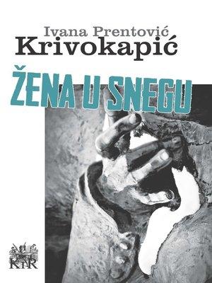 cover image of Žena u snegu