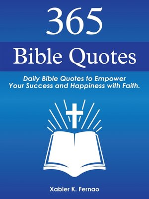 cover image of 365 Bible Quotes